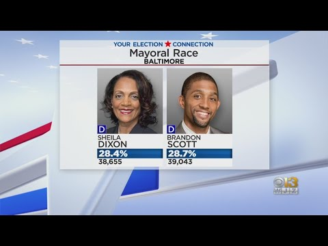 Ballot Count Continues For Baltimore's Mayoral Race, Brandon Scott Now Leading