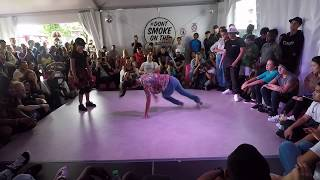 B-Girl Battle at Montreux Festival du Jazz