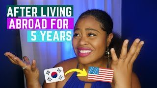 REVERSE CULTURE SHOCK: Korea to America After 5 Years