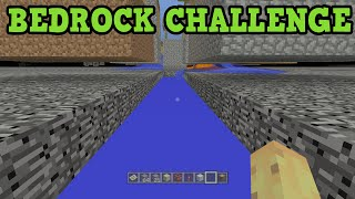 Minecraft PS4 - BEDROCK CHALLENGE (SuperFlat)