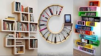 20 Creative Bookshelf & Book Rack Designs Ideas