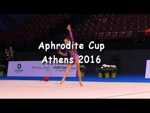 Dimitra Papanota (GRE) - Junior 2001 23 - Aphrodite Cup Athens 2016