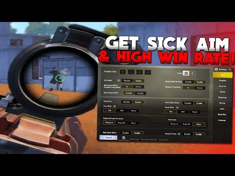 BEST SETTINGS & CONTROLS FOR PUBG MOBILE