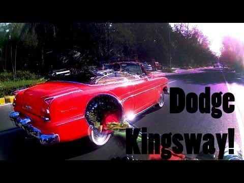 Spotted Vintage DODGE KINGSWAY on Delhi Roads   Royal Enfield