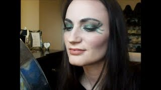 Poison Ivy Inspired Makeup Tutorial Thumbnail