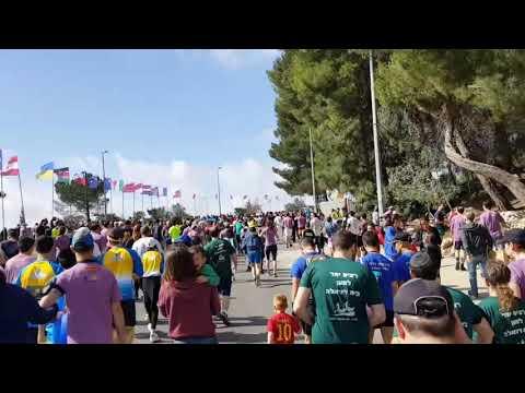 Was History made at the Jerusalem Marathon? Jeremy Gimpel Live from Jerusalem!