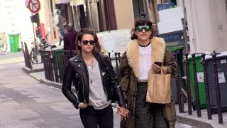 EXCLUSIVE: Kristen Stewart and Soko very much in love in the streets of Paris(Kristen Stewart and Soko looked very much in love walking in the streets hand in hand of Paris Paris, France 15th March 2016 More amazing celebrity videos ..., 2016-03-15T19:41:58.000Z)