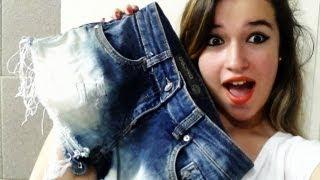 Como desbotar short jeans!