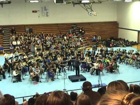 """7th Grade 2014 South Central Missouri JH Honor Band """"Presto"""""""