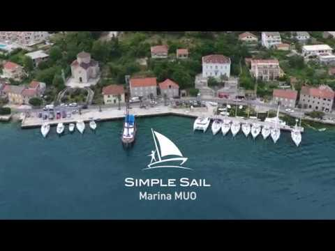 SimpleSail Montenegro - Marina Muo