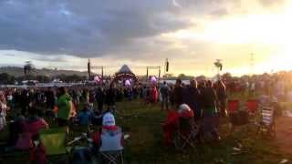 Glastonbury 2014 Elbow Lippy Kids