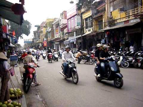 Streets of Hannoi, Vietnam