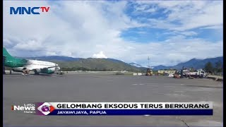 Gambar cover Keamanan Kembali Pulih, Gelombang Pengungsi Wamena Semakin Berkurang - LIM 07/10