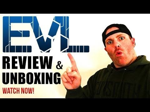 EVL Nutrition Supplements Full Review & Unboxing |  All Social: @RobTramonte