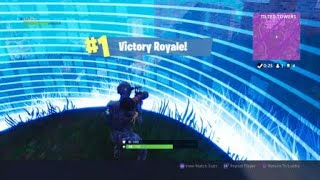 Fortnite win#40 GAMEPLAY (SCARY GAME)