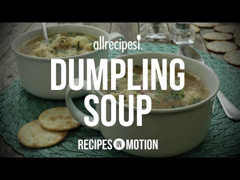 Soup Recipes – How to Make Dumpling Soup