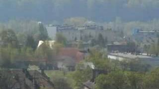 Panorama Krzeszowic z Czatkowic