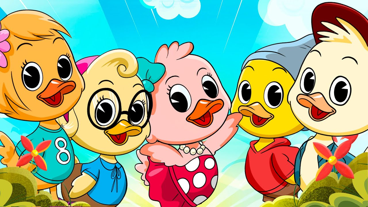 SEIS PATITOS, canciones infantiles