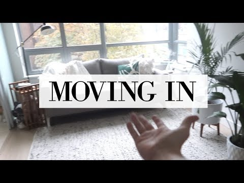 MY NEW APARTMENT: The Move-In Vlog | allanaramaa