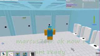 roblox marcus760 learns how to swim