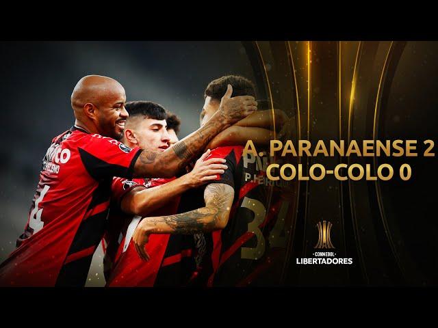 A. Paranaense vs. Colo-Colo [2-0] | RESUMEN | Fase de Grupos | Jornada 4 | Libertadores 2020