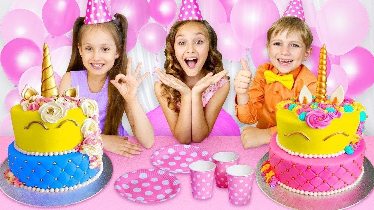 Yarik está preparando una sorpresa para el elegante cumpleaños de Sasha. Juegos divertidos y dulces