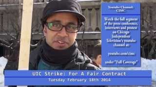 Short: UIC Faculty And Students Protest Unfair Practices...