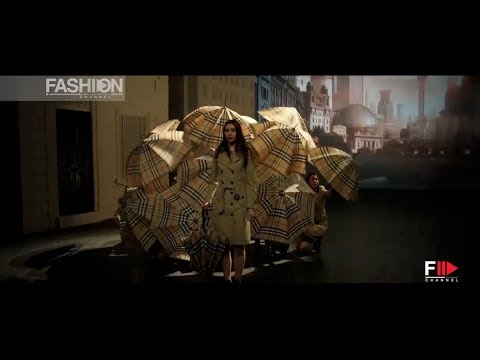 """BURBERRY"" Celebrates London in Shanghai - Chapter 4 - Dancing Umbrellas"