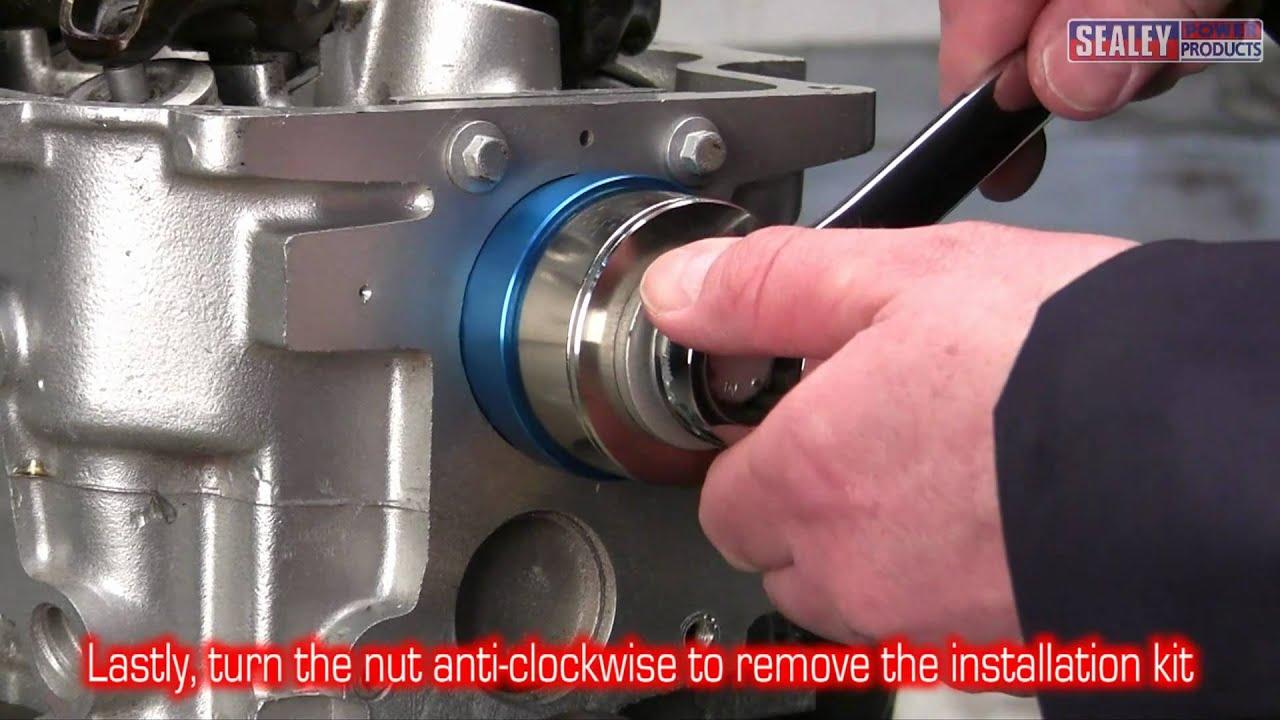 Crank Oil Seal Remover Installer INSTALLATION Kit Universal Seal Crankshaft Tool