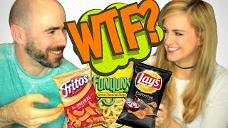 Irish People Try American Chips - Crisps For the First Time