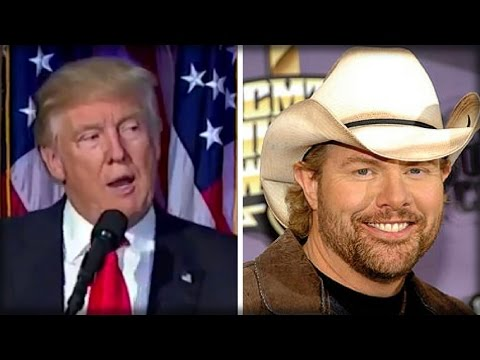 TOBY KEITH BLASTED FOR PERFORMING AT INAUGURATION, THEN HE MAKES SHOCK ANNOUNCEMENT