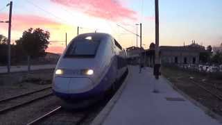 TGV en gare d