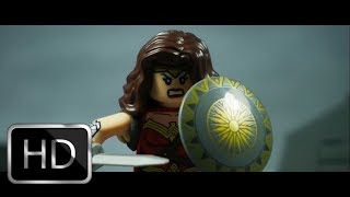 Wonder Woman Trailer in LEGO