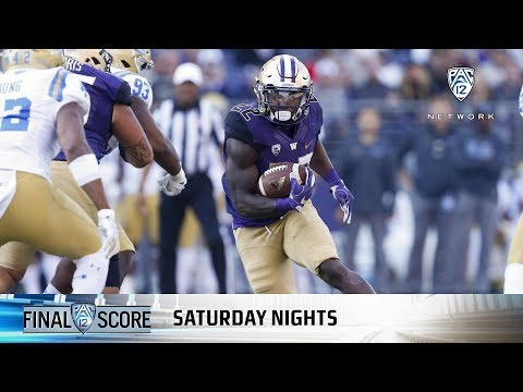 Highlights: Husky running game rumbles as Washington defeats UCLA