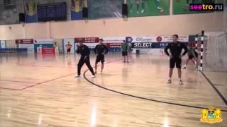Правильное размещение игроков при угловом в мини-футболе