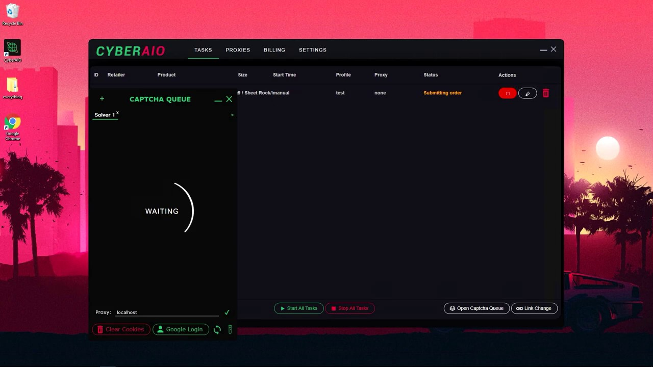 CyberAIO / CyberSole Sneaker Bot Crack! Latest Version (Will be updated to  4 0)
