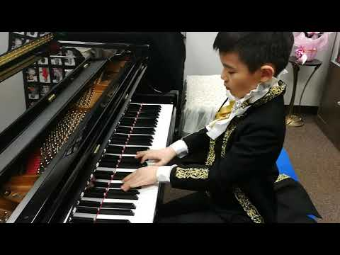 Anson Yu 7 Years Plays Variations On A Russian Theme By Maykapar
