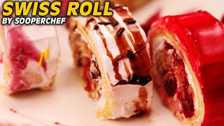 Swiss Roll Recipe - How to make Swiss Roll | SooperChef