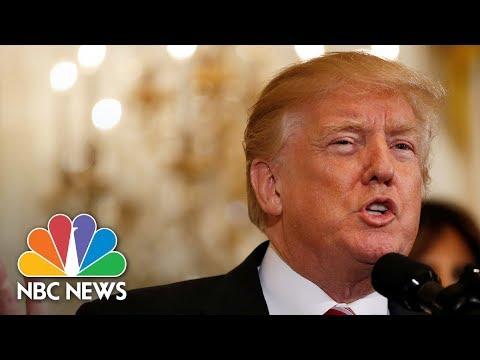President Donald Trump Presents Public Safety Medal Of Valor Awards   NBC News