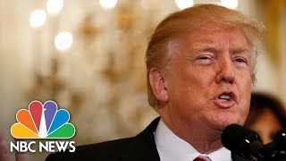 President Donald Trump Presents Public Safety Medal Of Valor Awards | NBC News