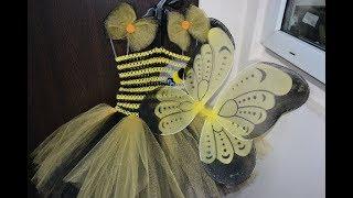 Костюм пчелки/Платье ту-ту/МК 3 в 1/Tutorial/How To Make A Tu-Tu Dress/D.I.Y