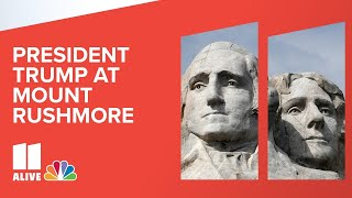 President Trump speaks at Mount Rushmore July Fourth event | Live