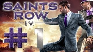 Saints Row 4 Gameplay #1 - Let
