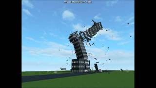 Roblox Physics: Building Collapse