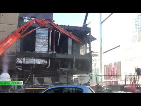 Update #2 Demolition of the Downtown Shopping Centre in Auckland City