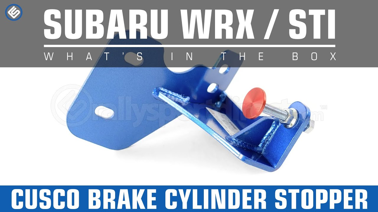 CUSCO Brake Cylinder Stopper for Subaru 02-07 WRX//STI 666 561 ALHD