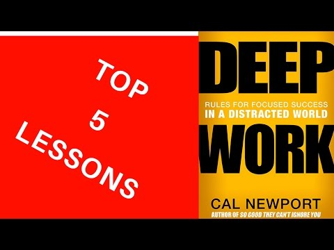 Top 5 Lessons from 'Deep Work' by Cal Newport