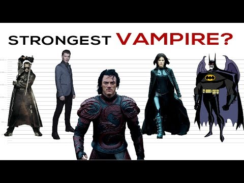 The Strongest Vampires in the Universe