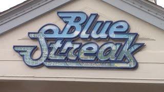 Blue Streak Review Cedar Point HD 60fps