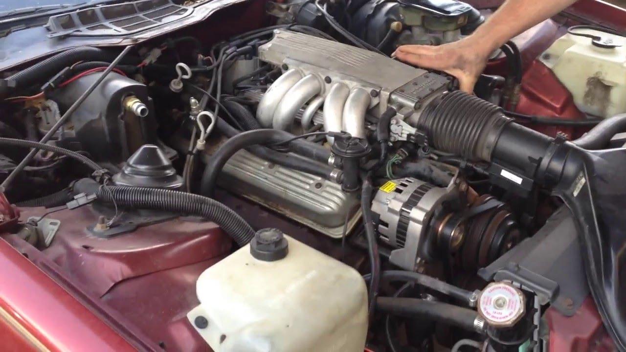 1987 Camaro Z28 Stock 305 TPI  YouTube